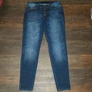 Kancan denim jeans size 29 button fly